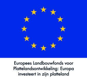 Logo: Europees Landbouwfonds voor Plattelandsontwikkeling: Europa investeert in zijn platteland
